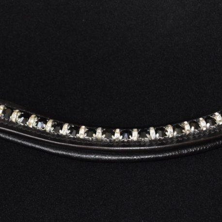 Black Diamante diamante spacer