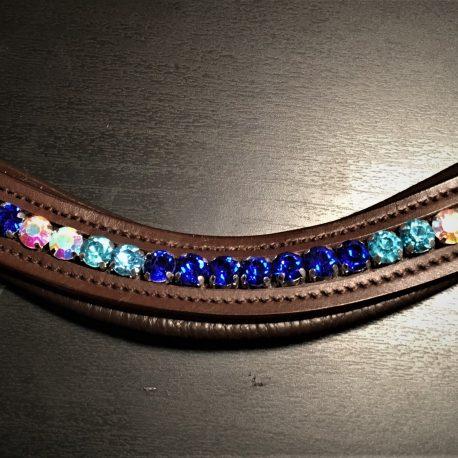Alternating blue diamante 4